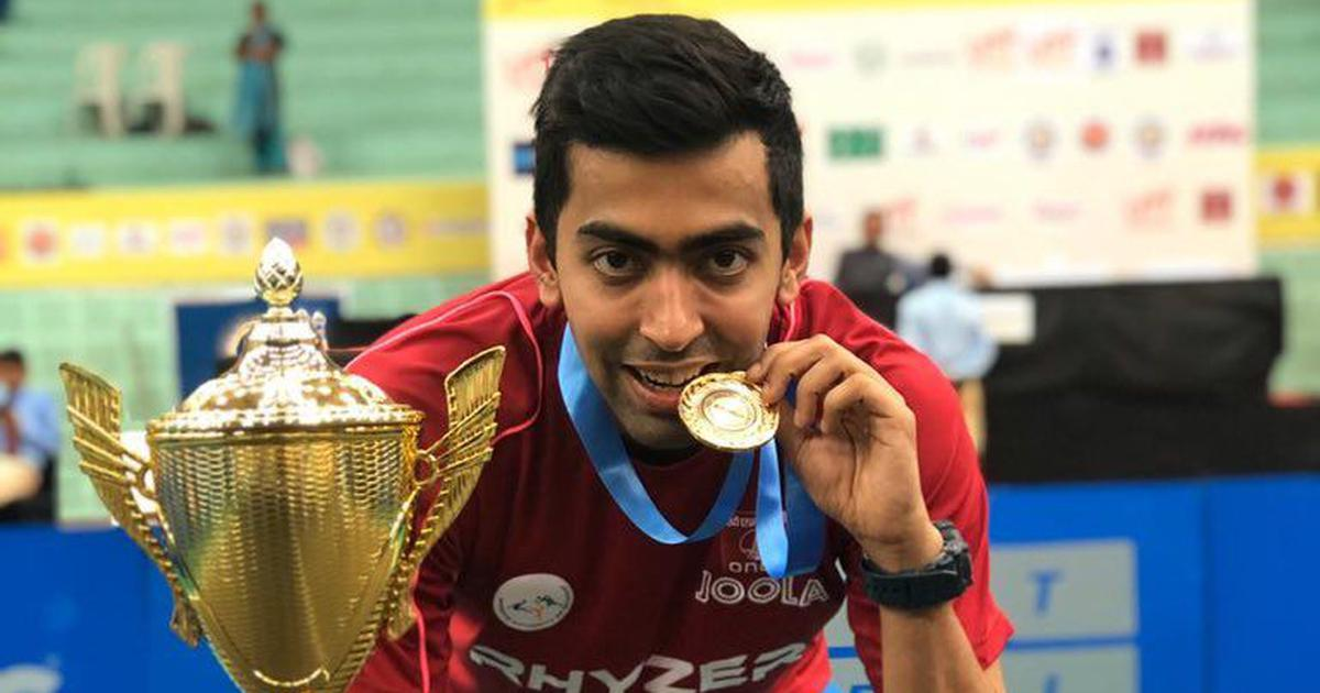 Table tennis: Harmeet Desai beats Manav Thakkar to clinch first national title