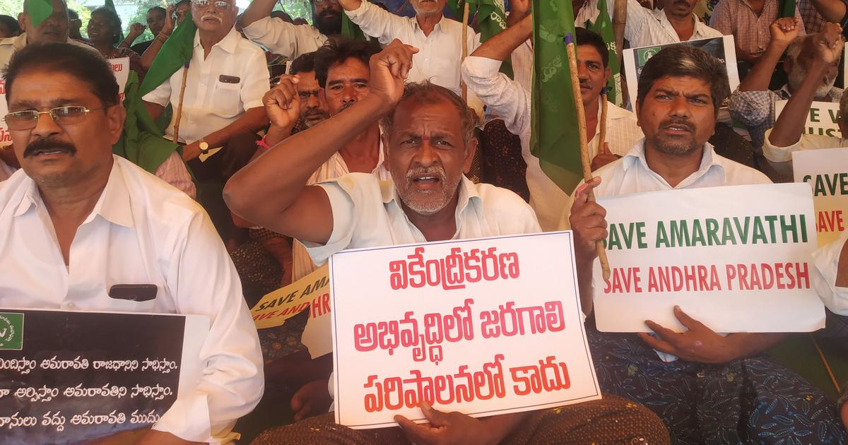 They gave up farmland for new Andhra capital. Now they are crippled with uncertainty