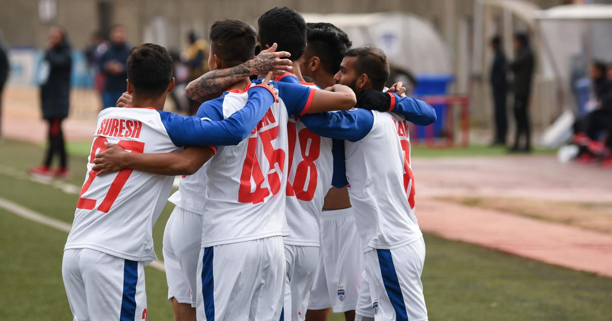 Football: Thongkhosiem Haokip on target as Bengaluru FC beat Paro FC in first leg of AFC Cup