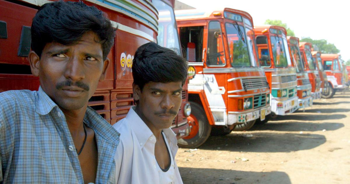 What's causing frequent truck accidents on Indian roads? Overworked drivers with no healthcare