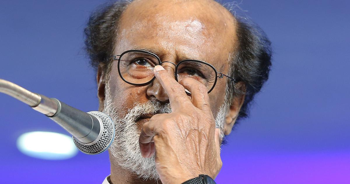 Rajinikanth lays out political roadmap, but says he does not want to be chief minister