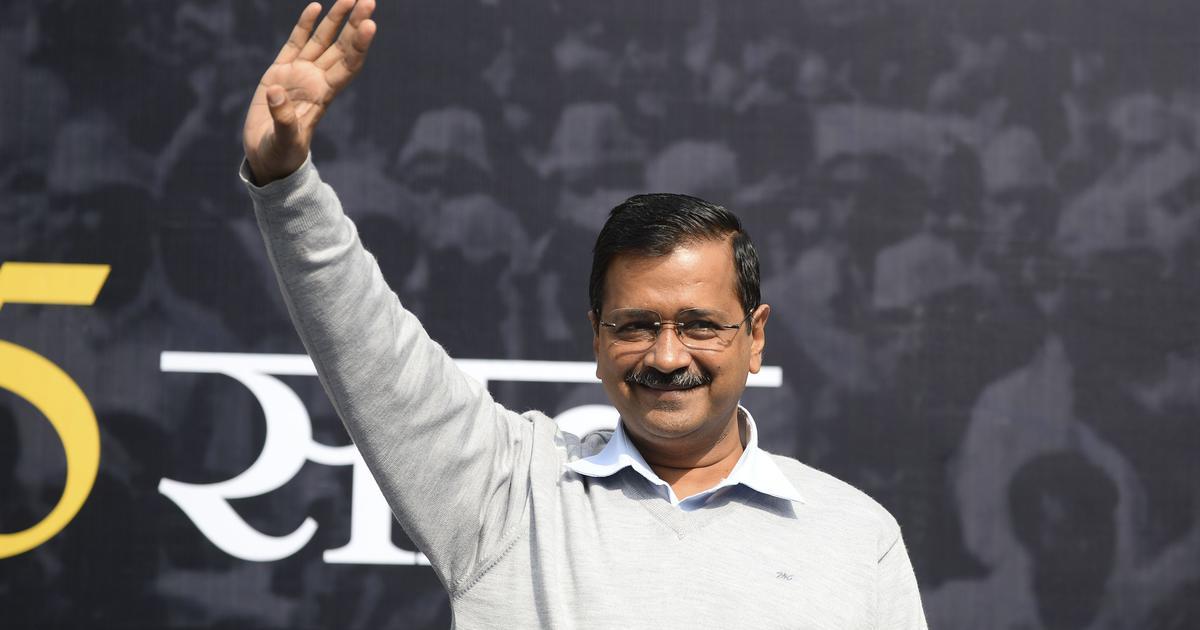 दिल्ली विधानसभा चुनाव नतीजे : आप एक बार फिर प्रचंड बहुमत की ओर