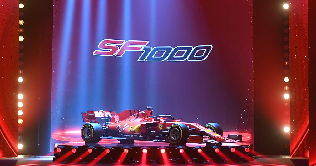 Formula One: Hoping to win first world title since 2007, Ferrari launch new SF1000 car