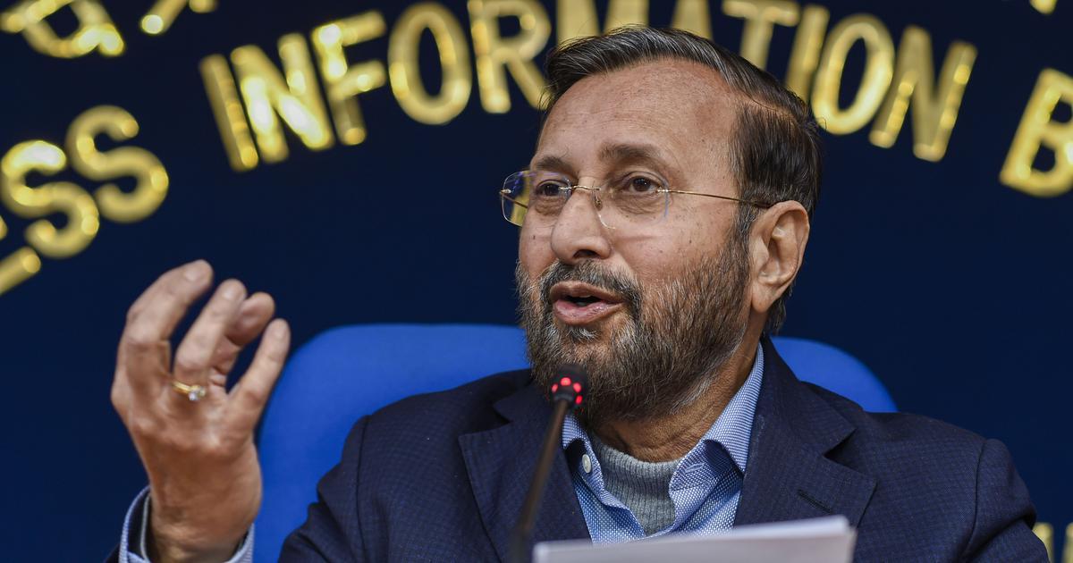 Prakash Javadekar criticises 'TRP centric journalism', says no need for 'drama or sensation'