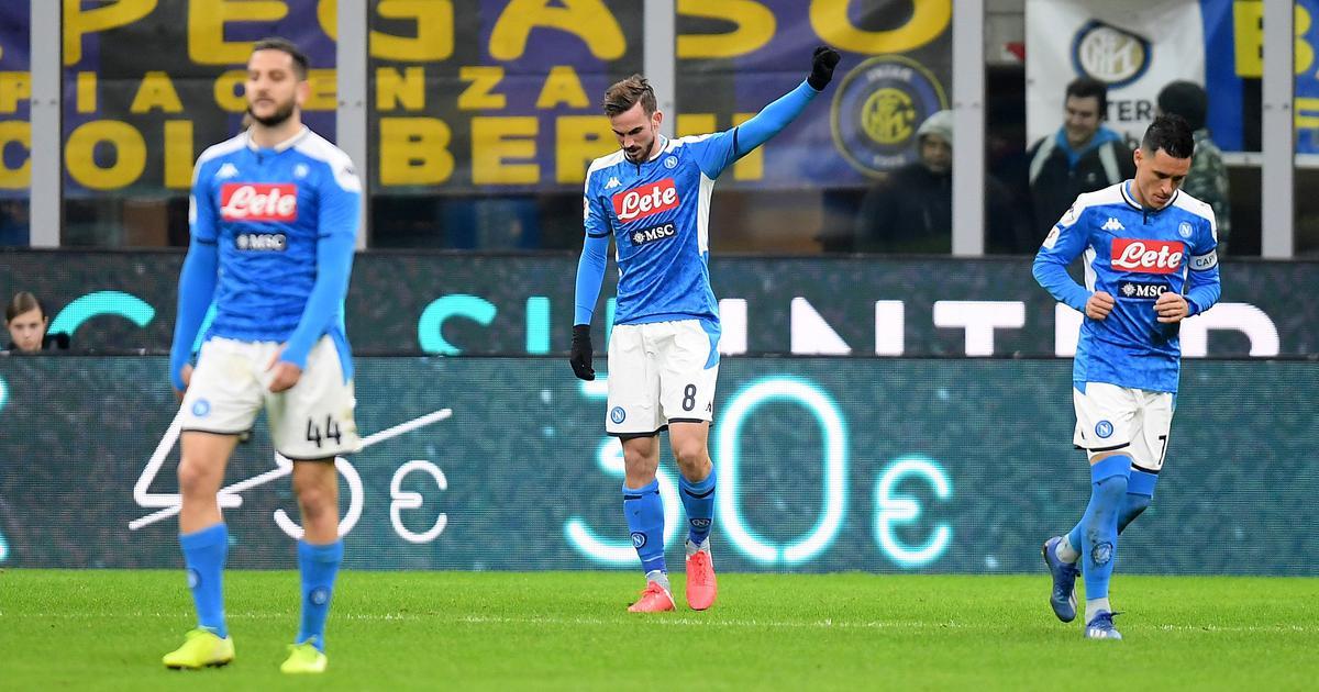 Football: Fabian Ruiz helps Napoli beat Inter Milan in first leg of Italian Cup semi-final