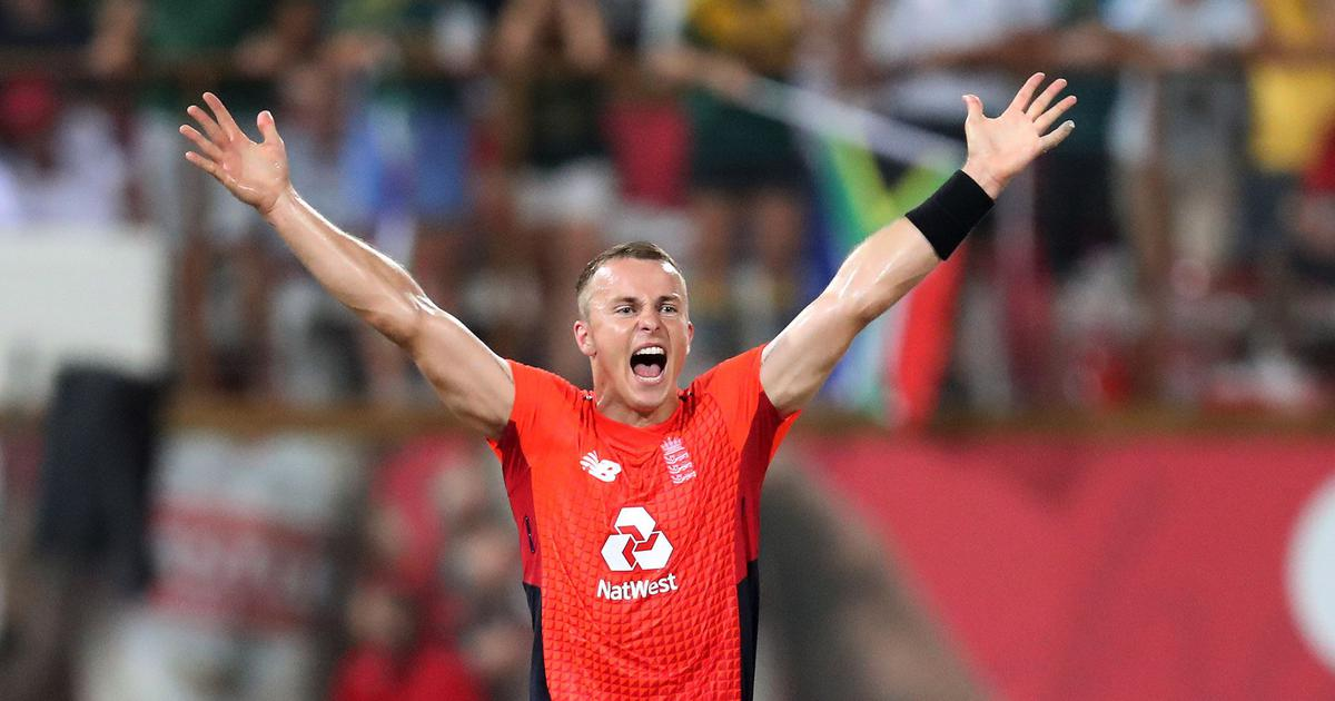Tom Curran's last over heroics help England level T20 series against South Africa