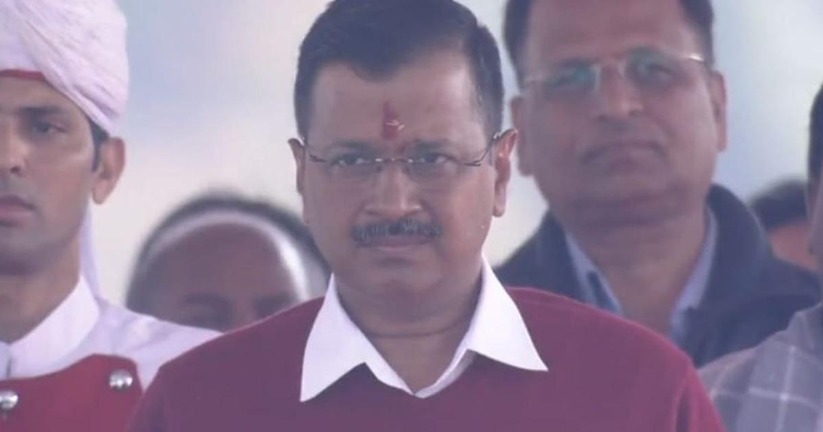 'I forgive those who spoke ill of me': Arvind Kejriwal takes charge of Delhi for third straight term