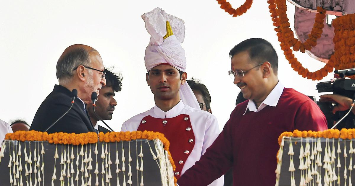 The big news: Arvind Kejriwal and six ministers take oath in Delhi, and nine other top stories