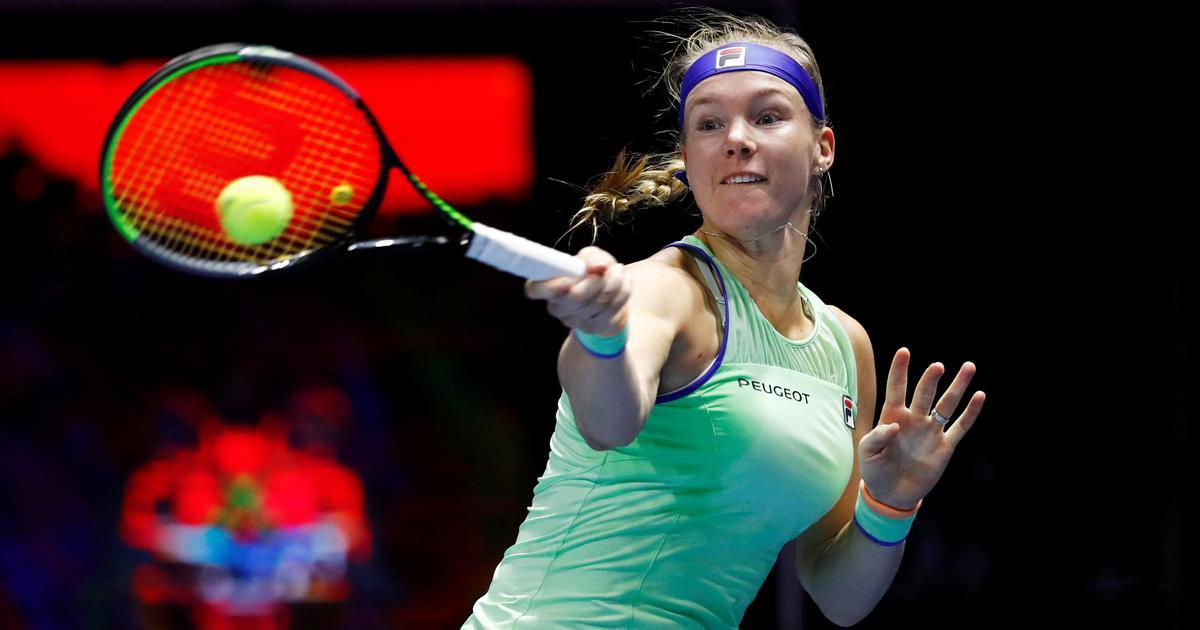Tennis: Kiki Bertens crushes Elena Rybakina in straight sets to defend Saint Petersburg title