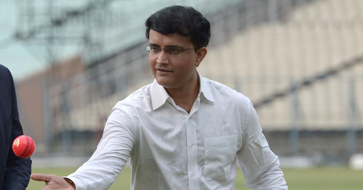 Ahmedabad will host the Day/Night Test against England: Sourav Ganguly