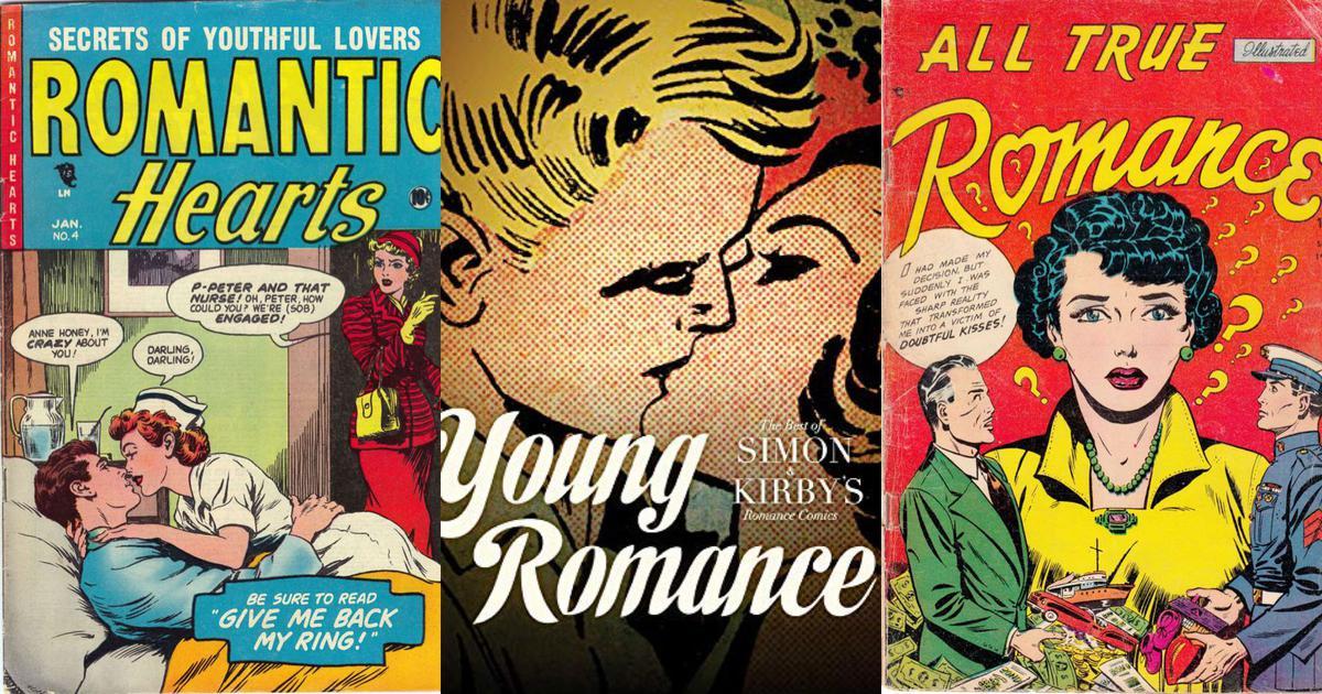 How post-World World War II America fell in love with romance comics
