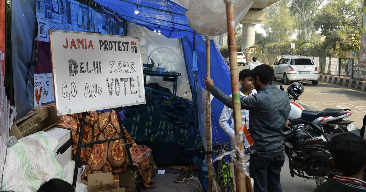 Coronavirus: Jamia Millia Islamia students temporarily suspend anti-CAA protest