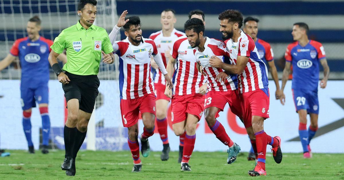 ISL: Soosairaj, Garcia's late goals help ATK overcome two-goal deficit to hold Bengaluru FC