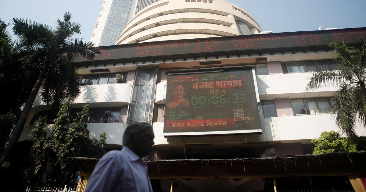 Sensex records biggest single-day gain in absolute terms, crosses 30,000 points