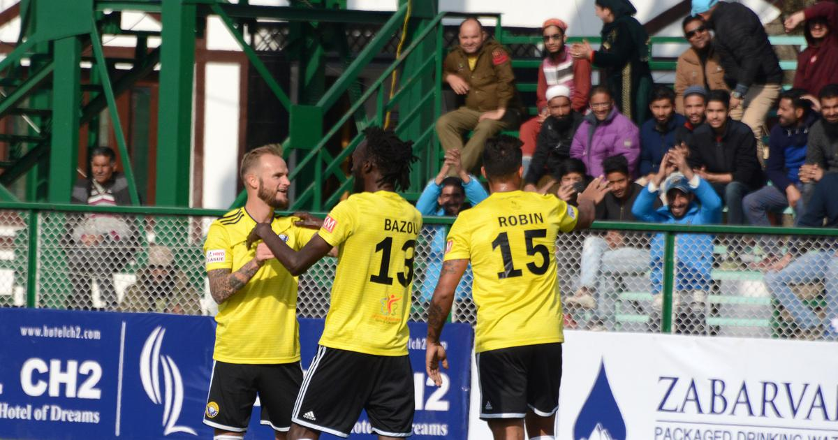 I-League: Bazie Armand scores as Real Kashmir register hard-fought victory against Indian Arrows