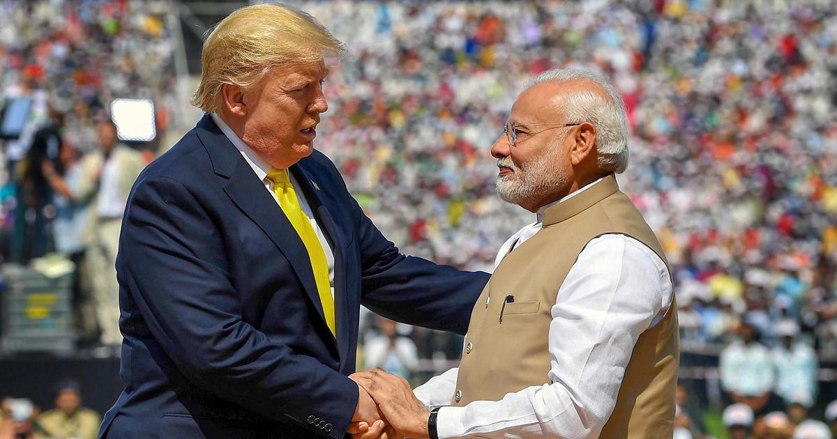 Trump in India: Violence in New Delhi and praise for Modi