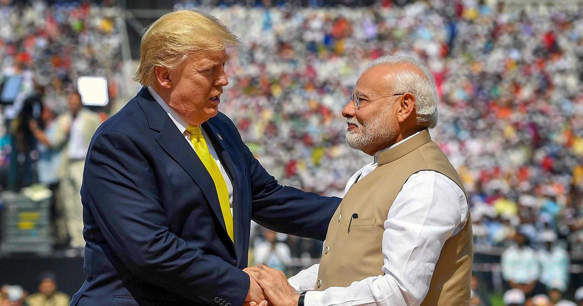 Macho Man: By using a gay anthem at their rally, what message did Modi and Trump intend to convey?