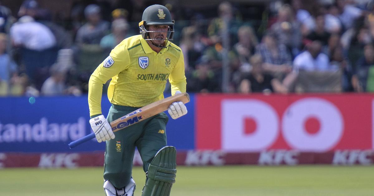 South Africa captain Quinton de Kock takes 'mental health' break from cricket