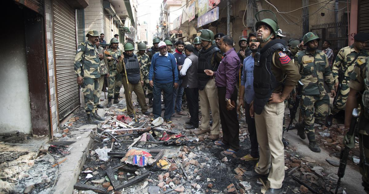 Delhi violence: Police name 15 accused in over 17,000-page chargesheet