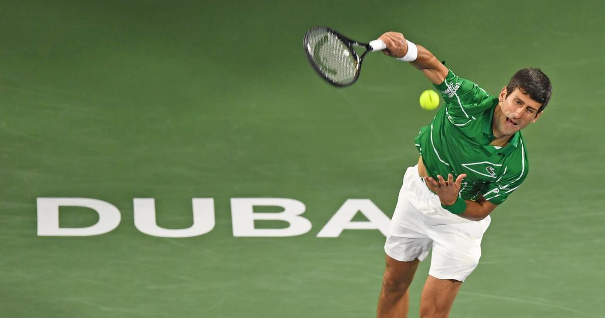Tennis: Djokovic saves three match points to beat Monfils and set up Dubai final with Tsitsipas