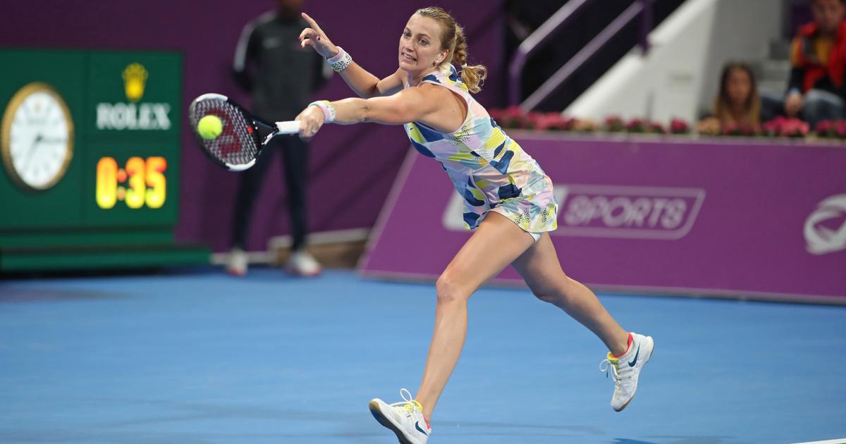 Tennis: Kvitova ends losing streak against Barty, Sabalenka beats Kuznetsova to set up Doha final