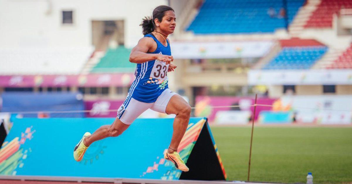Athletics: Dutee Chand wins 100m event at Indian Grand Prix I on return to action