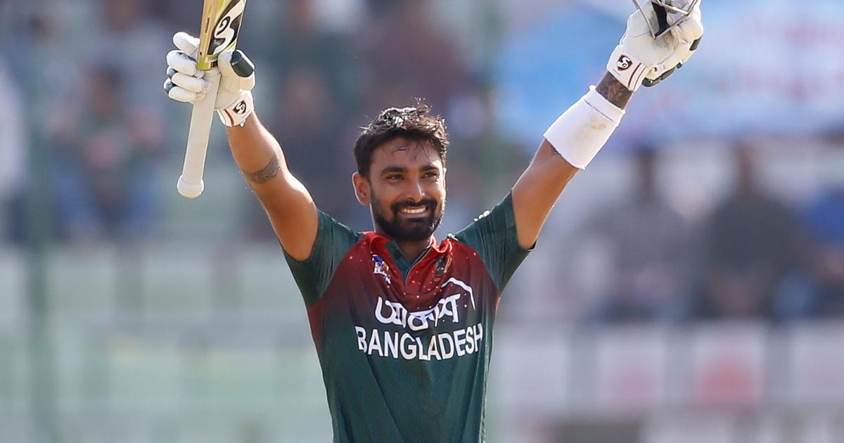 First ODI: Liton Das century powers Bangladesh to record win against Zimbabwe