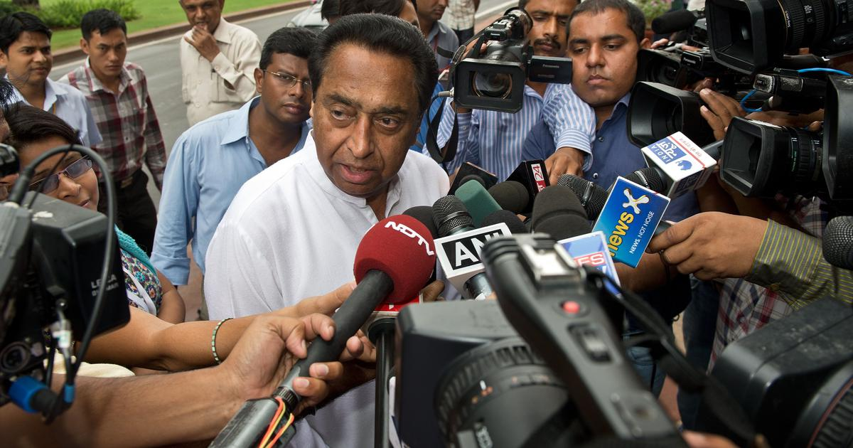 Anticipating loss in MP bye-polls, BJP indulging in 'bargaining games', claims Kamal Nath