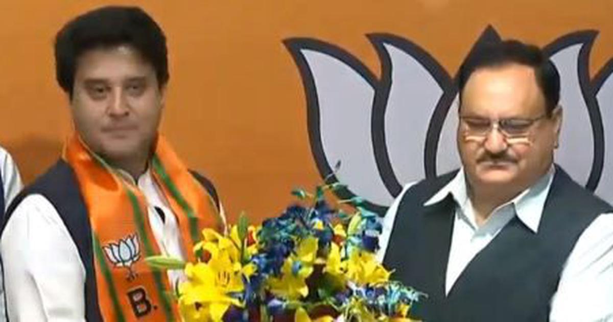 Madhya Pradesh crisis: Jyotiraditya Scindia joins BJP, says 'India's future safe in PM Modi's hands'