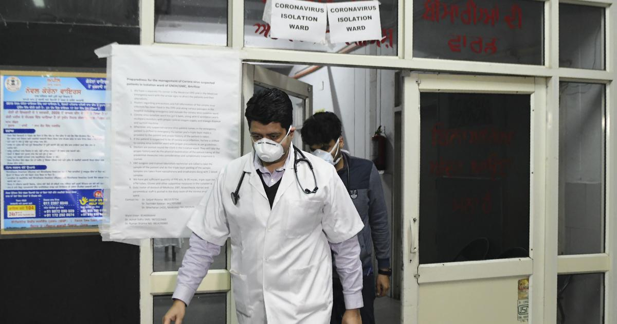 Covid-19: Doctors attacked while screening residents in Indore, two injured