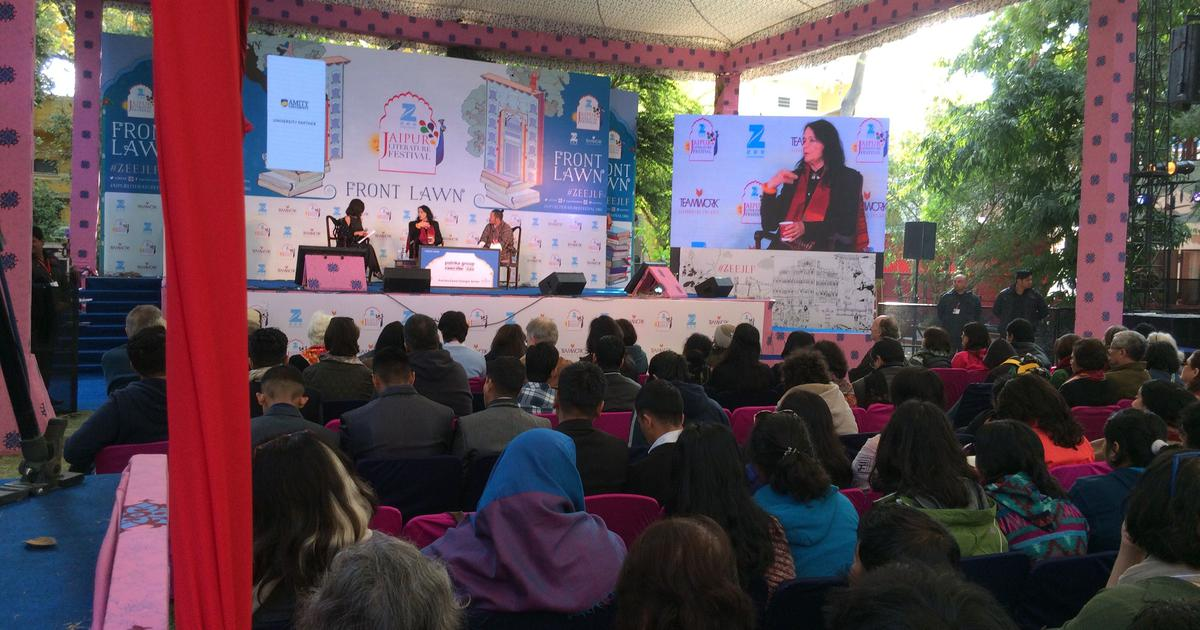 'Jaipur Journals' is set in a literature festival to explore the writing life in all its complexity