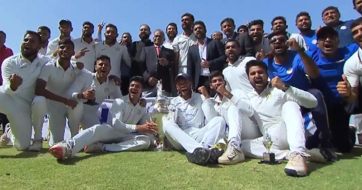 Saurashtra, a new champion: Here's the complete list of Ranji Trophy winners