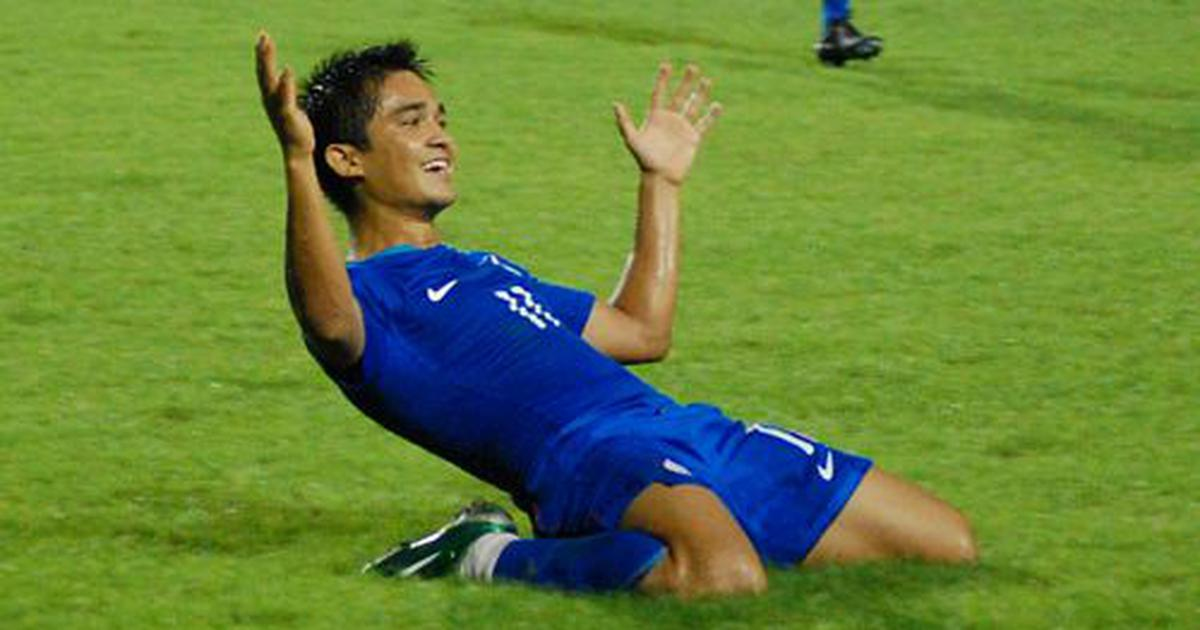 Pause, rewind, play: Sunil Chhetri scores first international hat-trick as India end Asian exile
