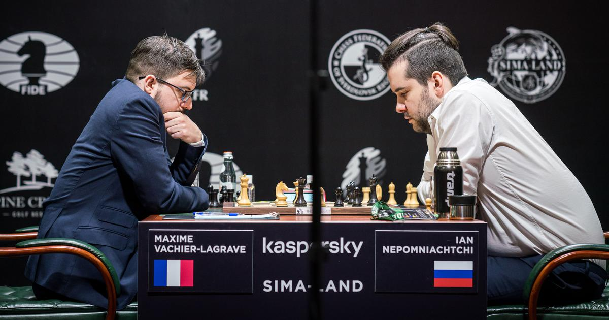 Fide Chess Candidates 2020: Maxime Vachier-Lagrave jumps in joint lead at halfway stage