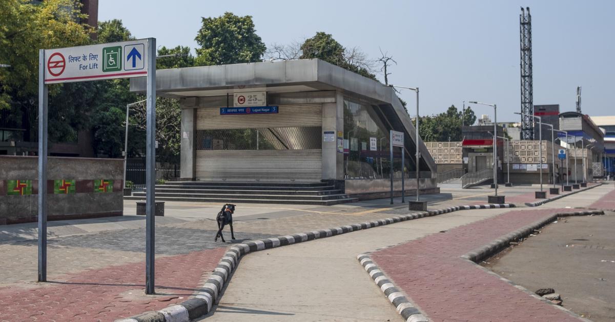 Coronavirus lockdown: Delhi metro to remain shut till April 14