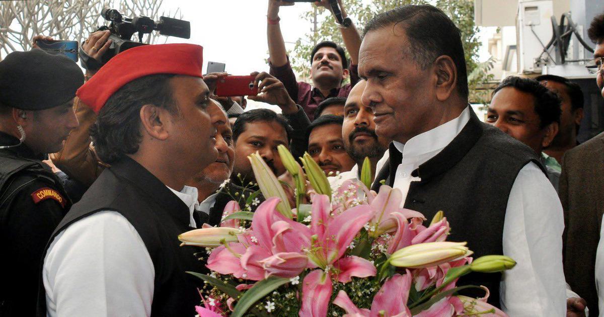 Beni Prasad Verma, a founding member of Samajwadi Party, dies at 79