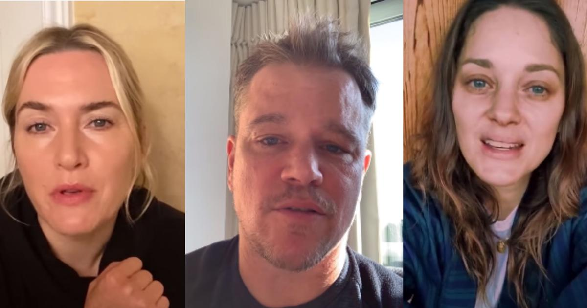 Cast of 'Contagion' issues PSA on coronavirus pandemic