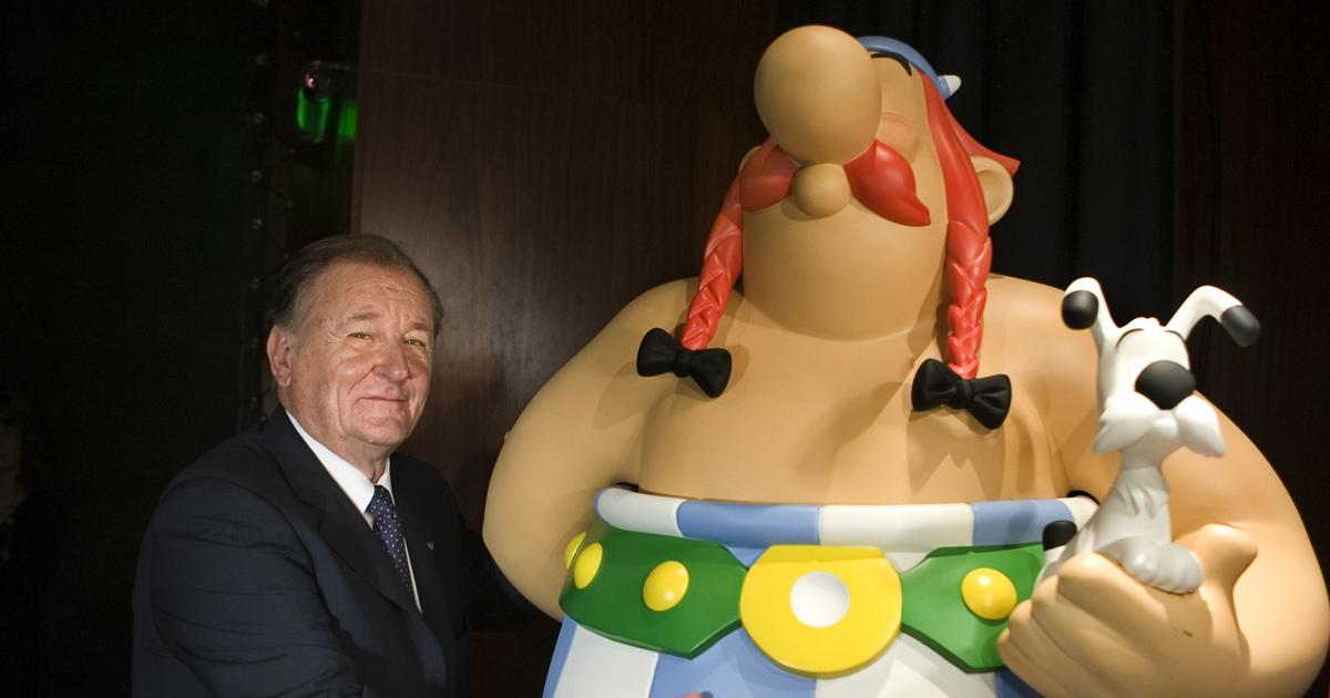 Albert Uderzo (1927-2020) embedded Asterix & Co in our heads with his trademark comic illustrations