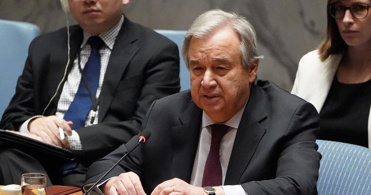 Coronavirus: Pandemic the biggest challenge the globe faces since World War II, says UN chief