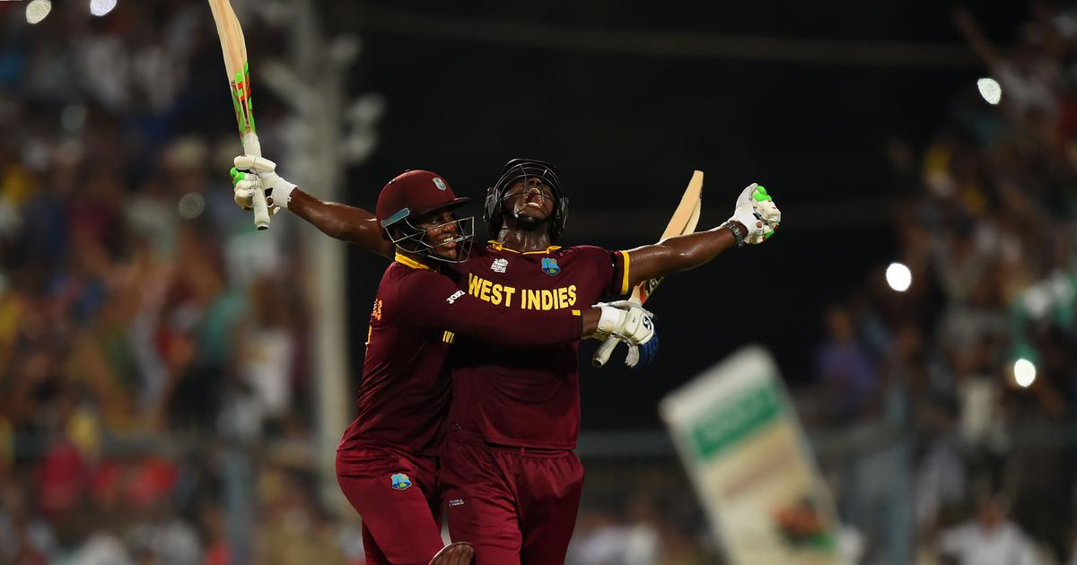 Watch: Carlos Brathwaite's four consecutive sixes in the final over that won WI the 2016 World T20