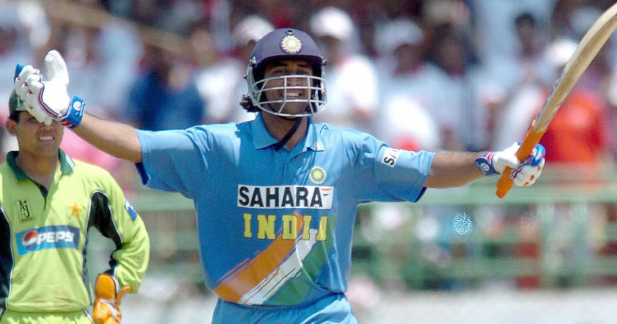 Pause, rewind, play: MS Dhoni announces himself on the international stage with stunning 148