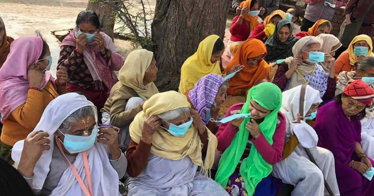 How a Vrindavan home for elderly women is stepping up efforts to fight coronavirus