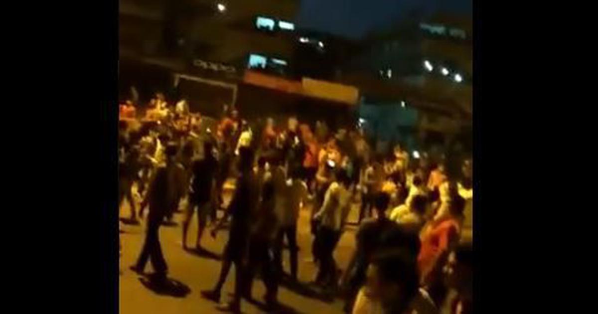 Coronavirus: Migrant workers in Gujarat's Surat block roads over fears of extended lockdown
