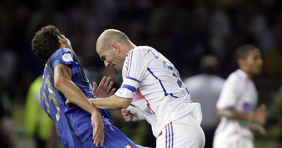 Pause, rewind, play: Zinedine Zidane's headbutt in 2006 – a violent end to a stellar career