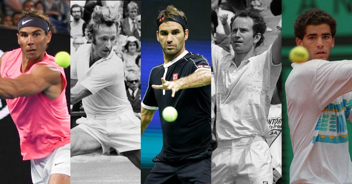 From Laver vs Emerson to Federer vs Nadal: 10 greatest rivalries in men's tennis
