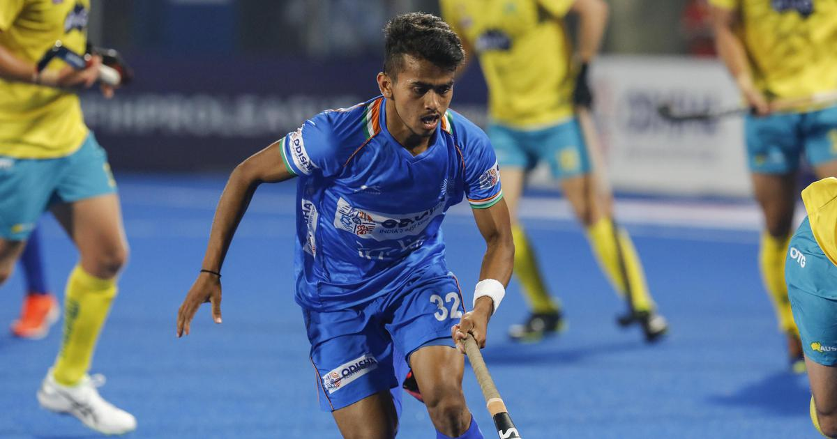 Hockey: At the heart of India's midfield, Vivek Sagar Prasad is creating his path to greatness