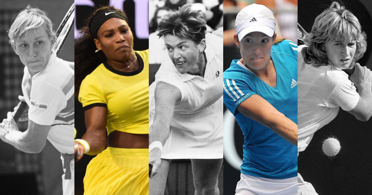 From Evert vs Navratilova to Graf vs Seles: 10 greatest rivalries in women's tennis