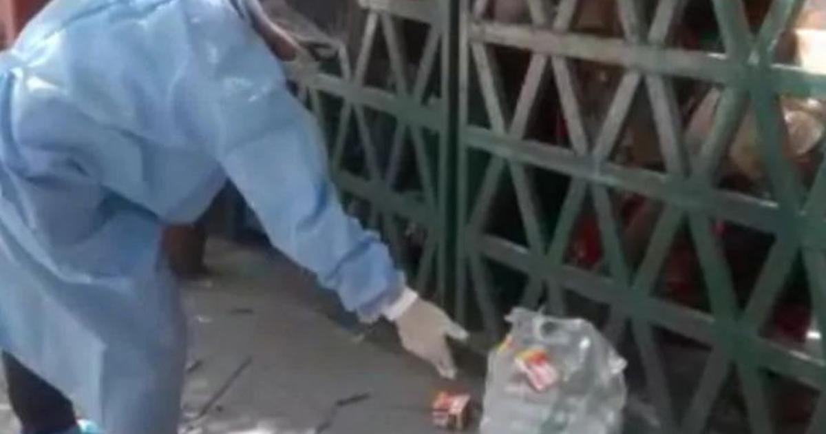 Watch: Water, biscuits tossed from outside in Agra quarantine facility; DM says everything fine now