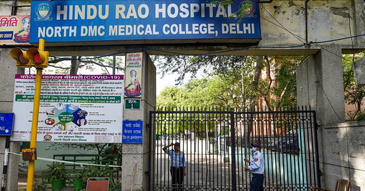 Covid-19 coronavirus: Hindu Rao Hospital in Delhi sanitised, emergency  services, three OPDs reopened