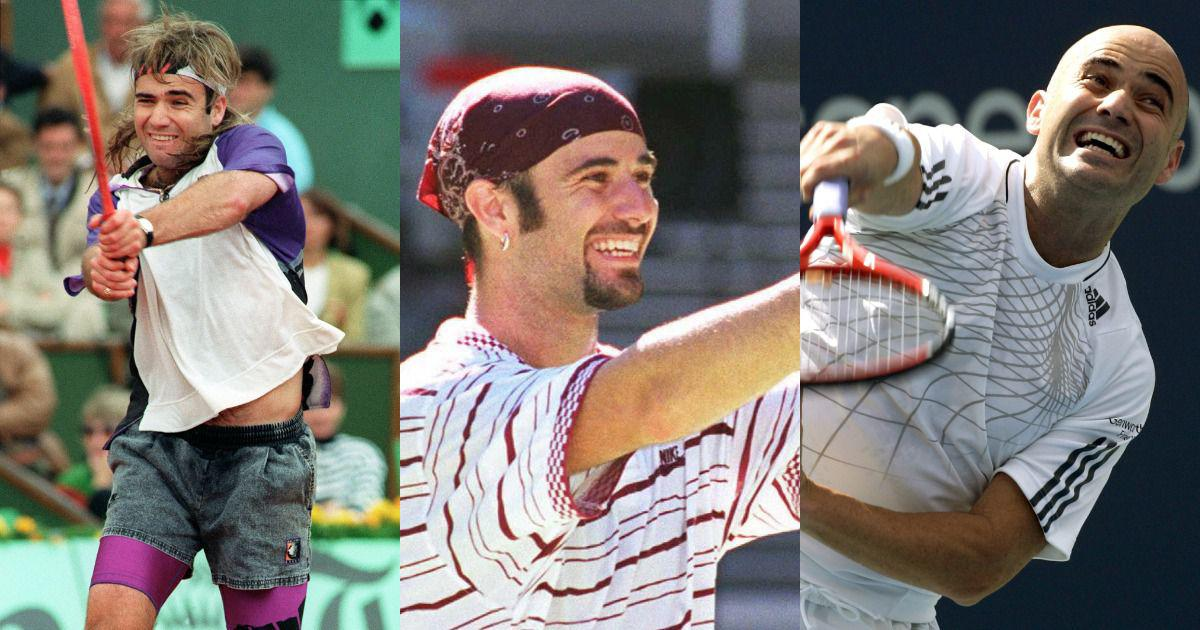 In photos: Andre Agassi's bold style that made him a fashion icon over the years